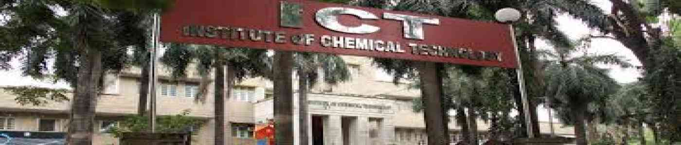 ME Admission 2019 - Institute of Chemical Technology, Mumbai