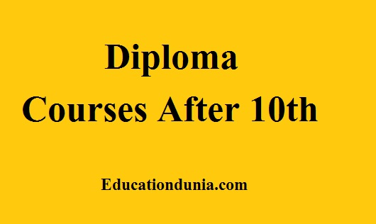 Diploma Courses After 10th 2020 Admission Fees Colleges