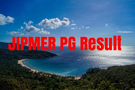 JIPMER PG Result 2019 Score Card, Rank List, Merit List, Cutoff